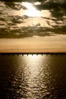 Sunrise over Lake Pontchartrain