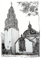 Balboa Park California Tower Museum By Riccoboni