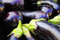 Eggplant Tops and Bottoms