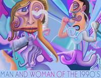 Man and Woman of the 1990's