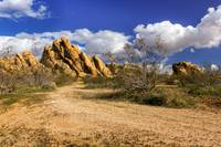 Boulders At Apple Valley