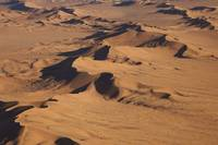 namib dunes from the air