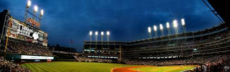 Progressive Field Pano
