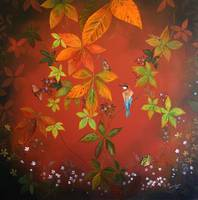 Autumn Leaves - Center Canvas