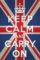 Keep Calm and Carry with Union Jack