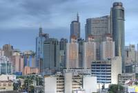 Makati CBD HDR (using Sigma 50mm f/1.4)
