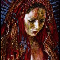 Dragon Madonna Art Prints & Posters by George Yepes