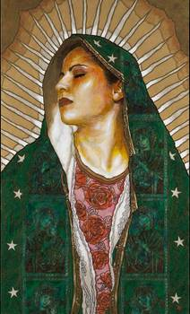 Virgen De Guadalupe By George Yepes