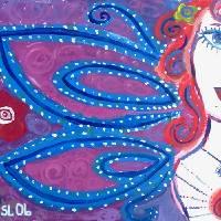 Violet Femme Art Prints & Posters by sheri laznicka
