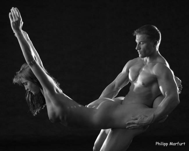 Interracial porn hot naked man woman