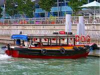 Embossed & Alive - river water taxi