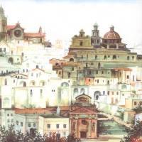 """Italian City Panorama 250dpi"" by StudioD"
