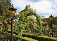 Butchart Gardens Archway by Carol Groenen
