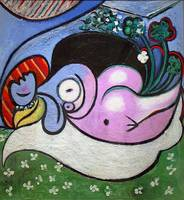 The Dreamer - Picasso by Wendy Ritch