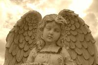 ~ my 1st heavenly *sepia* angel by *picnik* ~