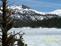 Iced Covered Caples Lake