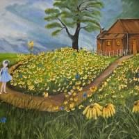 Daises by Barbara Wilford Gentry