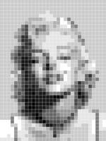 Marilyn Monroe Pixelated