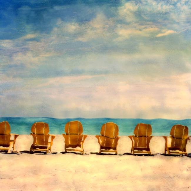 Chairs on Golden Beach