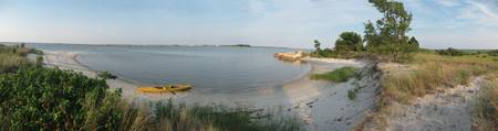 Chrisfield, Maryland, from Jane's Island