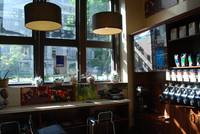 Interior. Cafe. Montreal.