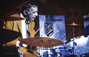 Buddy Rich By Michael Patterson