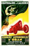 Centenaire de L'Algerie Race Course Advertisement Posters
