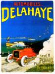 Delahaye Automobiles ~ Vintage Auto Advertisement Posters