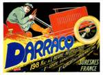 Darracq ~ Vintage French Motor Car Advertisement Posters