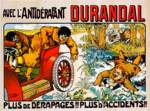 Durandal Rally Race ~ Vintage Endurance Car Advert Posters