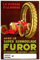 Furor Tires ~ Vintage Automobile Tire Advertisemen