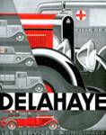 Delahaye ~ Vintage Automobile Advertisement Posters