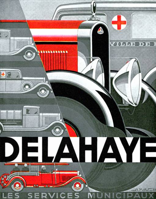 Delahaye ~ Vintage Automobile Advertisement