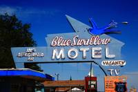 Route 66 - Blue Swallow Motel 2008