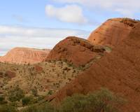0900 - Olgas from trail view point 8x10