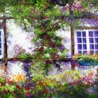 ENGLISH GARDEN COTTAGE by Marcia Baldwin