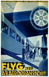 Vintage 1932 Flyg Airline Travel Art Posters