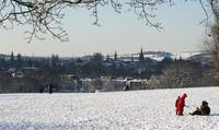 OXFORD IN SNOW