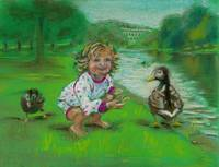 'Feeding the Ducks'
