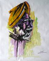 Portrait of a Sikh
