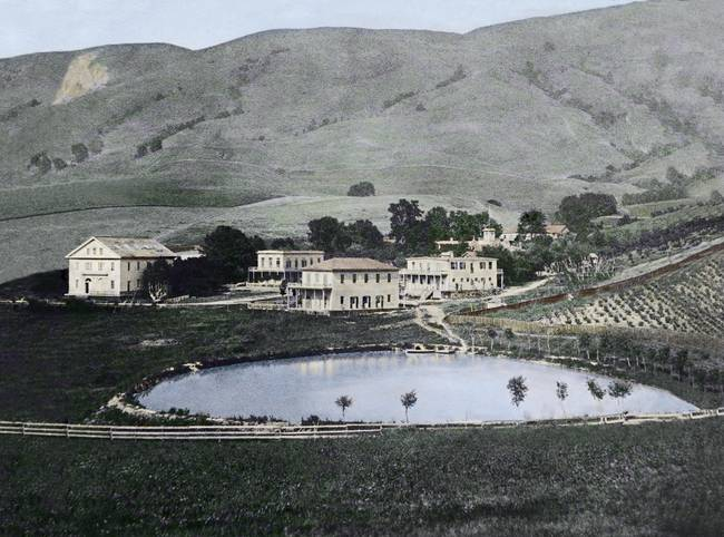 Warm Springs Resort c1880