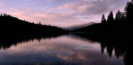 Hume Lake panorama