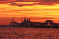 Chesapeake Bay Bridge - Sunset