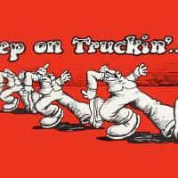 """Keep On Truckin"" by AtomicKommieComics"