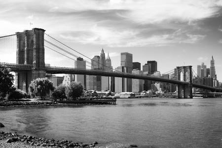 Brooklyn Bridge Art Prints by Jorg Dickmann
