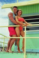 Christian Boeving and Kim Hartt as  Life Guards