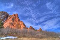 Roxborough Contrail