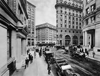 Montgomery and Market St, c. 1909 San Francisco by WorldWide Archive