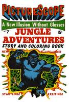 3-D Jungle Adventures Comic Book