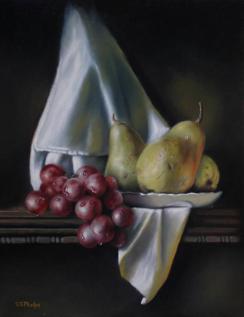 Grapes with Pears